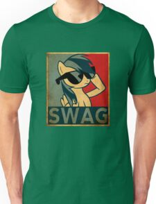 Rainbow Dash Swag Unisex T-Shirt