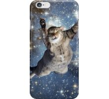 Cat in space - iCase available iPhone Case/Skin