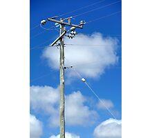 high powered pole Photographic Print