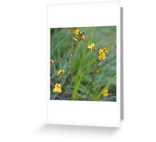 nature is the heart of our world. Greeting Card