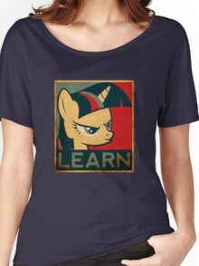 Learn - Twilight Sparkle Women's Relaxed Fit T-Shirt