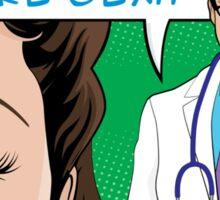I Prescribe More Sex Doctor Sticker