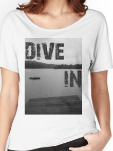 Dive In Women's Relaxed Fit T-Shirt