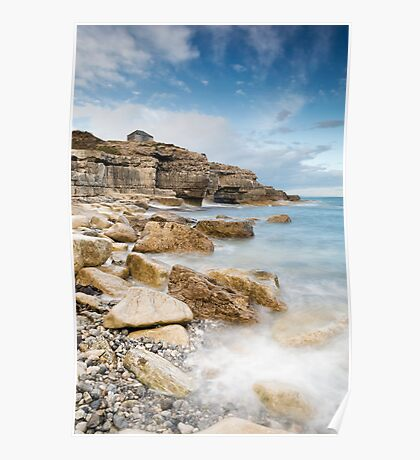 The Overlook at Portland Bill Poster