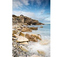 The Overlook at Portland Bill Photographic Print