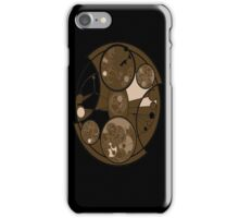 Doctor Who Gallifreyan vintage iPhone Case/Skin