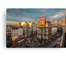 Cola Lite Canvas Print