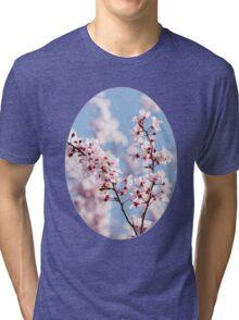 Pink for girls, blue for boys Tri-blend T-Shirt