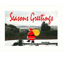SEASONS GREETINGS 64 Art Print