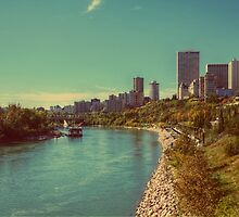 River Valley, Edmonton, Alberta Canada by Laura-Lise Wong