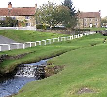 Hutton-le-Hole Stream and Waterfall by Edward Denyer