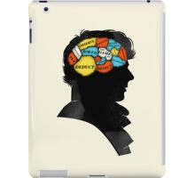 Sherlock Phrenology iPad Case/Skin