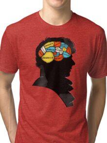 Sherlock Phrenology Tri-blend T-Shirt