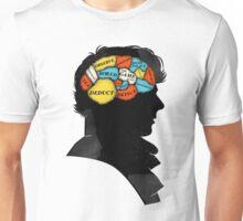 Sherlock Phrenology Unisex T-Shirt