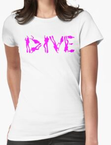 DIVE WITH DIVERS IN PINK T-Shirt