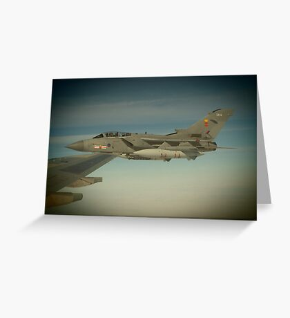 Tornado on the wing  Greeting Card
