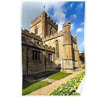 Edington Priory Church, Wiltshire, UK Poster
