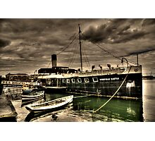 PSS Wingfield Castle Quayside View Photographic Print
