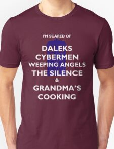 Doctor Who scary cooking T-Shirt