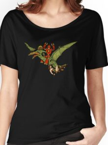 Pterodactyl and Robot Women's Relaxed Fit T-Shirt