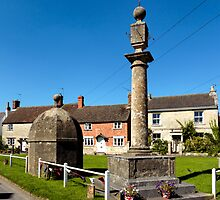 The Blind House and Market Cross, Steeple Ashton, Wiltshire, UK by Andrew Harker