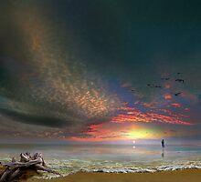 Sunset Stroll by Igor Zenin