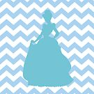 Cinderella Chevron print by sweetsisters