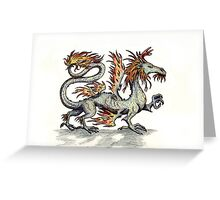 Draca ignis (clean version) Greeting Card