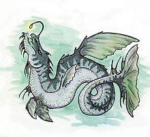 Serpentia lophiiformia (clean version) by Niko Silvester