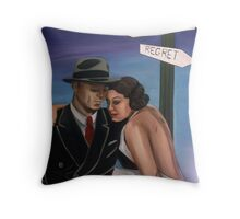 From Regret to Destiny Throw Pillow
