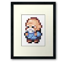 Pokemon - Old Man Framed Print