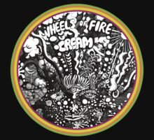 "CREAM ""Wheels of fire"" by Dream-life"
