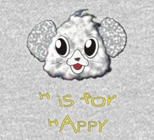 H is for Happy T-shirt Kids Clothes