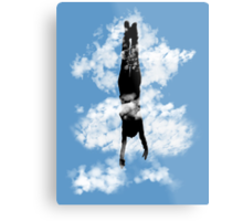 Free style down from the sky... Metal Print