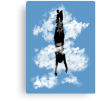 Free style down from the sky... Canvas Print