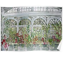 victorian conservatory Poster