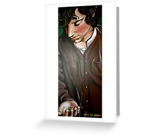 Frodo and The Ring Greeting Card