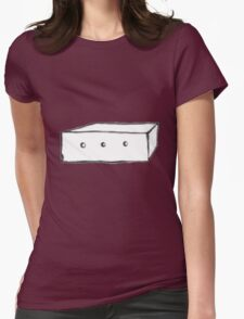 Sheep in a Box Womens Fitted T-Shirt