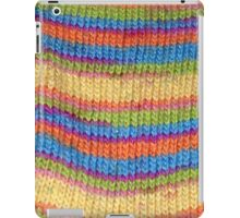 Knitted Sock No. 1 iPad Case/Skin
