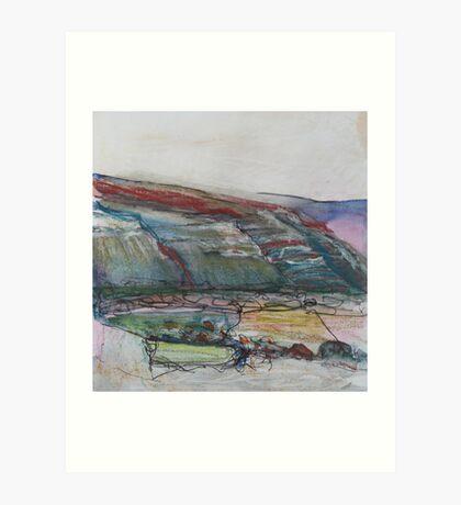 World's End, Llangollen Art Print