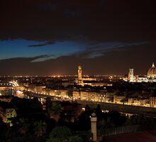 Notte a Firenze by Geoffrey Fighiera