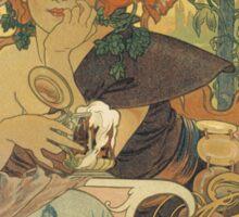 Mucha - Bieres de la Meuse Sticker