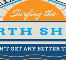 Surfing the North Shore Sticker