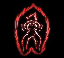 The Power of the Kaio-ken by Loftworks