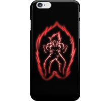 The Power of the Kaio-ken iPhone Case/Skin