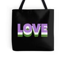 Genderqueer Love Tote Bag
