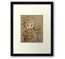Stonehearth Knight Framed Print
