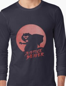 Justice Beaver Long Sleeve T-Shirt