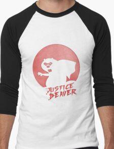 Justice Beaver Men's Baseball ¾ T-Shirt