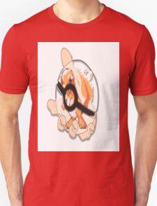 charmander in see thru pokeball  T-Shirt